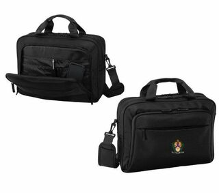 DISCOUNT-Alpha Kappa Lambda Crest - Shield Briefcase Attache