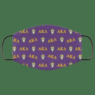 Alpha Kappa Lambda Letter Crest Face Masks