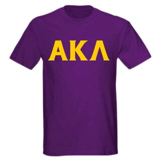 Alpha Kappa Lambda letter tee