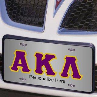 Alpha Kappa Lambda Lettered License Cover