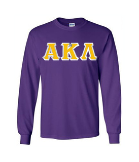 Alpha Kappa Lambda Lettered Long Sleeve Shirt