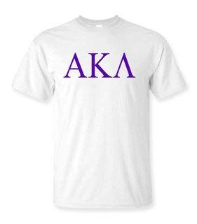 Alpha Kappa Lambda Lettered Tee - $9.95!