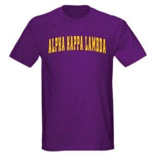 Alpha Kappa Lambda letterman tee
