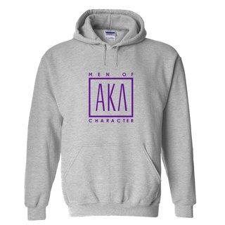 Alpha Kappa Lambda Logo Hooded Sweatshirt