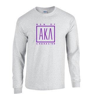 Alpha Kappa Lambda Logo Long Sleeve Tee