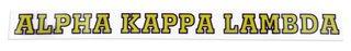 Alpha Kappa Lambda Long Window Decals Stickers