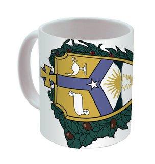 Alpha Kappa Lambda Mega Crest - Shield Coffee Mug
