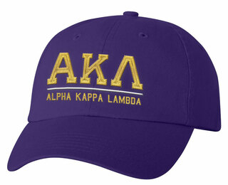 Alpha Kappa Lambda Old School Greek Letter Hat