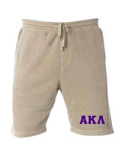 Alpha Kappa Lambda Pigment-Dyed Fleece Shorts