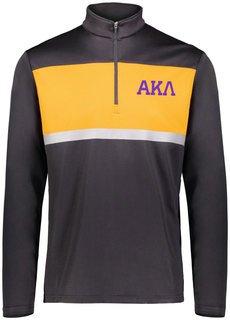 Alpha Kappa Lambda Prism Bold 1/4 Zip Pullover