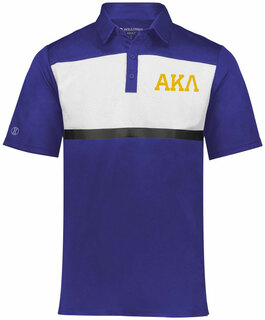 Alpha Kappa Lambda Prism Bold Polo