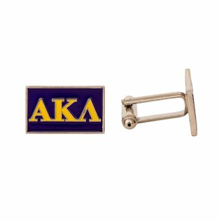 Alpha Kappa Lambda Rectangle Cuff Links