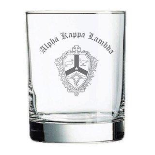 Alpha Kappa Lambda Old Style Glass