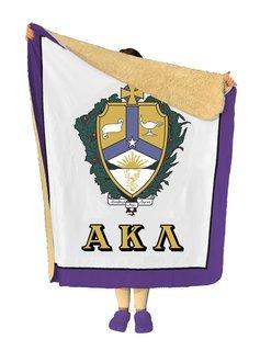 Alpha Kappa Lambda Sherpa Lap Blanket