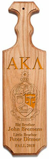 Alpha Kappa Lambda Traditional Greek Paddle