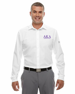 Alpha Kappa Lambda Under Armour�  Men's Ultimate Fraternity Long Sleeve Buttondown