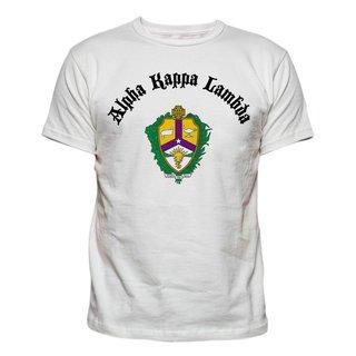 Alpha Kappa Lambda Vintage Crest - Shield T-shirt