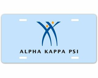 Alpha Kappa Psi Car Merchandise & License Plate Frames