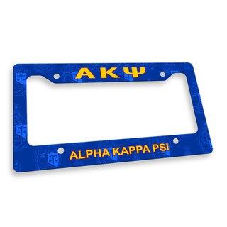 Alpha Kappa Psi Custom License Plate Frame