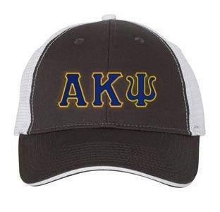 Alpha Kappa Psi Double Greek Trucker Cap