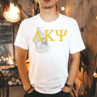 Alpha Kappa Psi Greek Crest - Shield T-Shirt