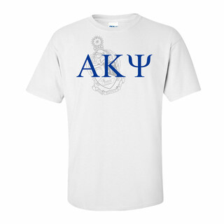 Alpha Kappa Psi Greek Crest - Shield T-Shirt