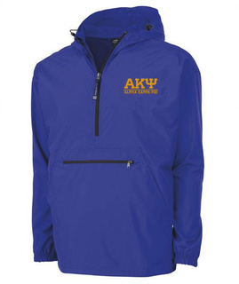 Alpha Kappa Psi Greek Letter Pack-N-Go Pullover