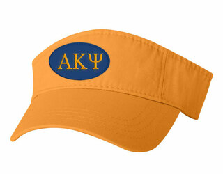 Alpha Kappa Psi Greek Oval Visor