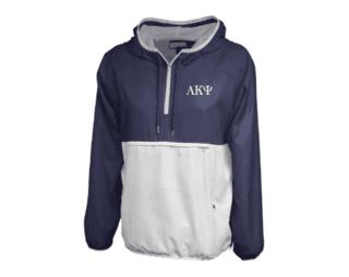Alpha Kappa Psi Letters Anorak