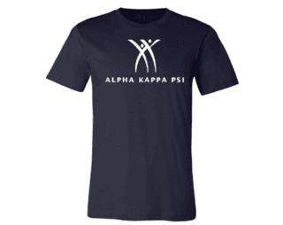 Alpha Kappa Psi Logo Tee