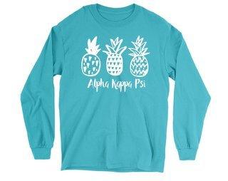 Alpha Kappa Psi Pineapple Long Sleeve