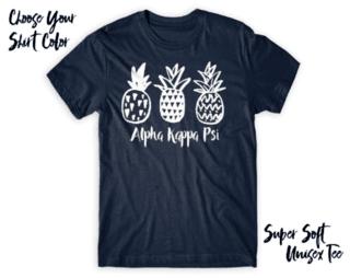 Alpha Kappa Psi Pineapple Tee