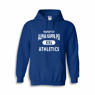 Alpha Kappa Psi Property Of Athletics Hoodie