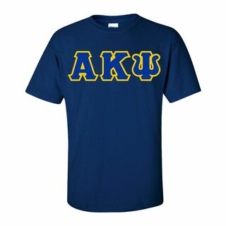 Alpha Kappa Psi Lettered T-Shirt