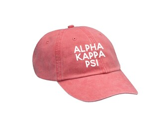 Alpha Kappa Psi Simple Hat