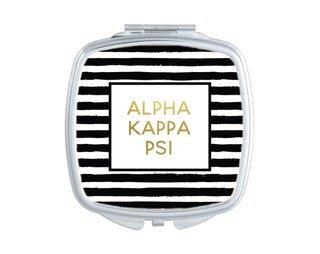 Alpha Kappa Psi Striped Compact