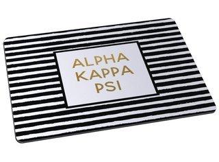 Alpha Kappa Psi Striped Mousepad