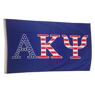 Alpha Kappa Psi USA Greek Letter Flag