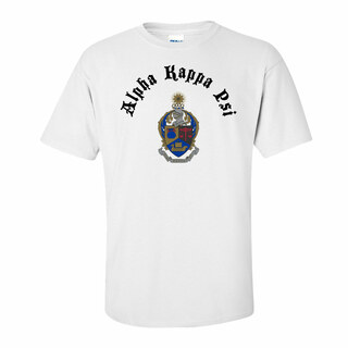 Alpha Kappa Psi Vintage Crest - Shield T-shirt