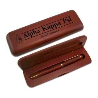Alpha Kappa Psi Wooden Pen Set