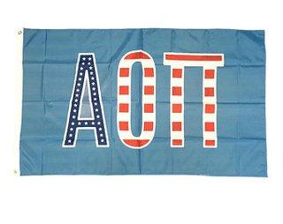 Alpha Omicron Pi 3 X 5 USA Flag
