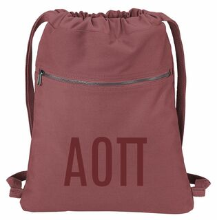 Alpha Omicron Pi Beach Wash Cinch Pack