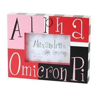 Alpha Omicron Pi Block Picture Frames