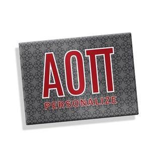 Alpha Omicron Pi Ceramic Magnet