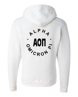 Alpha Omicron Pi Circle Hoodie