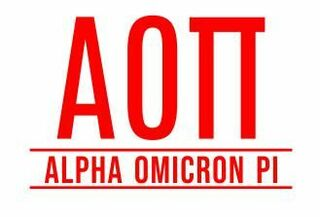 Alpha Omicron Pi Custom Sticker - Personalized