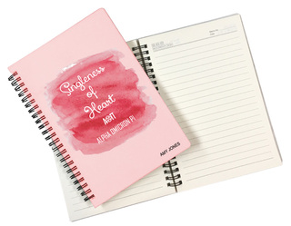 Alpha Omicron Pi Custom Watercolor Notebooks