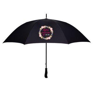 Alpha Omicron Pi Floral Umbrella