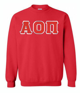 Alpha Omicron Pi Greek Crewneck- MADE FAST!