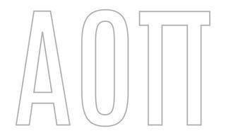 Alpha Omicron Pi Greek Letter Window Sticker Decal